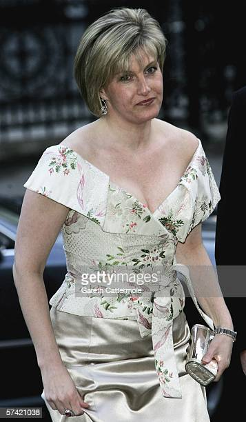 Sophie RhysJones Countess of Wessex attends The Blush Ball raising funds for the construction of a third Breast Cancer Haven in North England at the...
