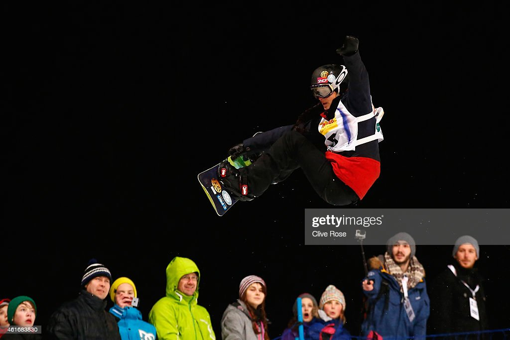 <a gi-track='captionPersonalityLinkClicked' href=/galleries/search?phrase=Sophie+Rodriguez&family=editorial&specificpeople=819734 ng-click='$event.stopPropagation()'>Sophie Rodriguez</a> of France competes during the Women's Halfpipe Final of the FIS Freestyle Ski and Snowboard World Championship 2015 on January 17, 2015 in Kreischberg, Austria.