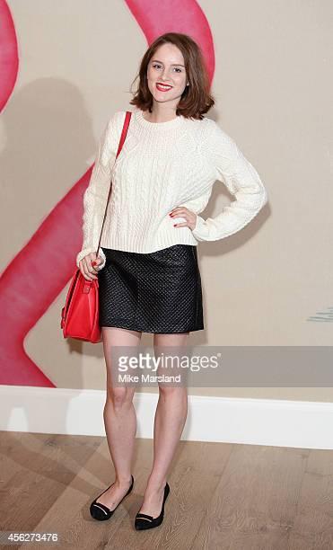 Sophie Rundle attends 'Peaky Blinders' London Preview Screening at Ham Yard Hotel on September 28 2014 in London England