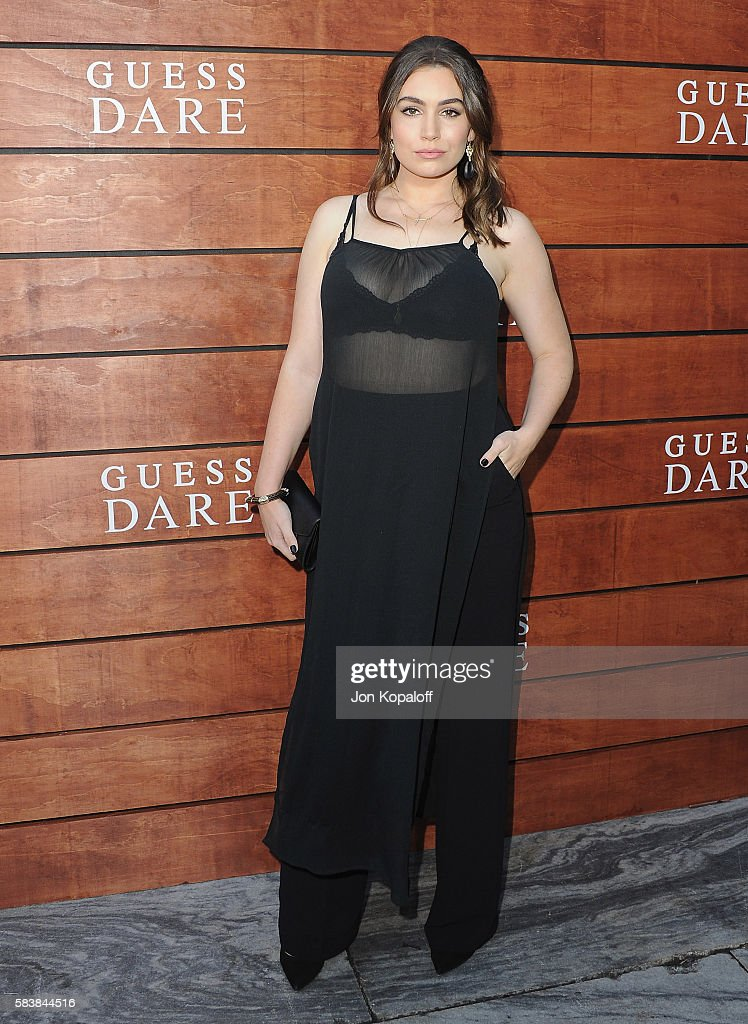 Sophie Simmons arrives at GUESS Dare Double Dare Fragrance Launch at Ysabel on July 27 2016 in West Hollywood California