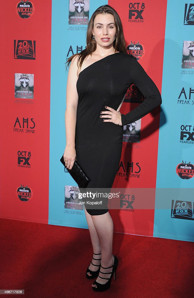 Sophie Simmons arrives at the Los Angeles Premiere 'American Horror Story Freak Show' at TCL Chinese Theatre IMAX on October 5 2014 in Hollywood...