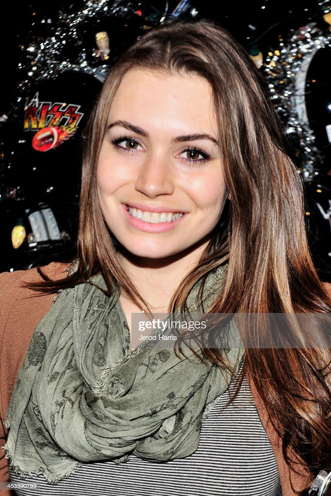 Sophie Simmons attends LA KISS Unveil KISSMAS Campaign with Children's Hospital of Orange County at Honda Center on December 3 2013 in Anaheim...
