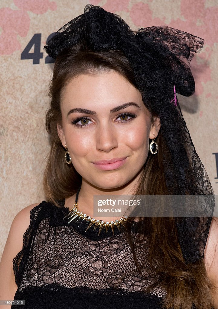 Sophie Simmons attends Perez Hilton's 36th Birthday 'Madonnathon' at 42West on March 22, 2014 in New York City.