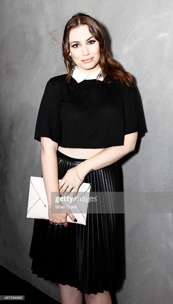 Sophie Simmons attends Sophie Simmons X The Style Club Party at Wood and Vine on October 14 2014 in Los Angeles Californiales California