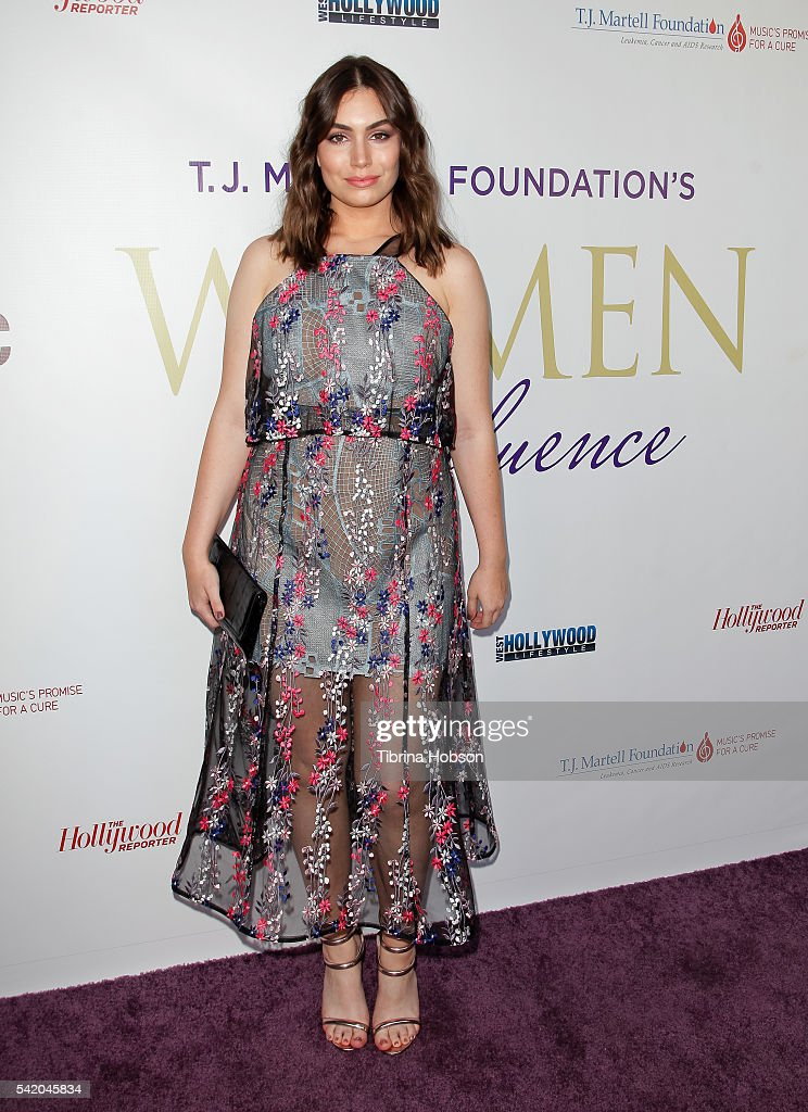 Sophie Simmons attends the Women of Influence Awards at The Wilshire Ebell Theatre on June 21 2016 in Los Angeles California