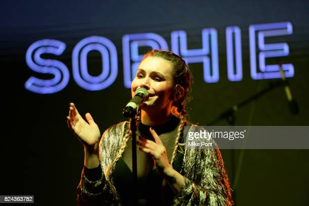 Sophie Simmons performs on stage during 'The Children Matter' an exclusive charity event benefiting MATTER The Starkey Hearing Foundation presented...