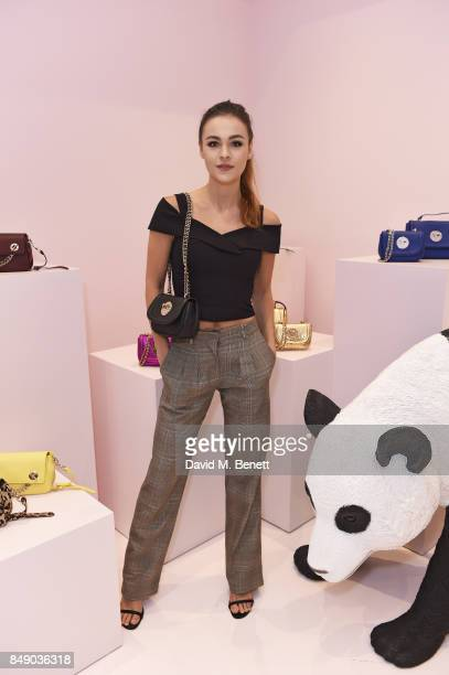 Sophie Skelton attends the Hill and Friends SS18 Presentation during London Fashion Week on September 18 2017 in London England
