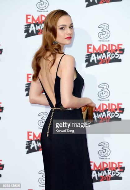 Sophie Skelton attends the THREE Empire awards at The Roundhouse on March 19 2017 in London England