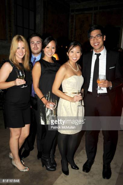 Sophie Smith Brian Orloff Eleanor Lam Stephanie Lam and James Wu attend The 2010 LIBRARY LIONS GALA at The New York Public Library on November 1 2010...