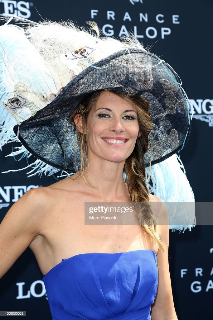 Sophie Thalmann attends the 'Prix de Diane Longines 2014' at Hippodrome de Chantilly on June 15, 2014 in Chantilly, France.