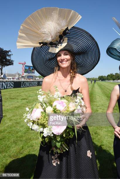 Sophie Thalmann attends the 'Prix de Diane Longines 2017' on June 18 2017 at Chantilly France