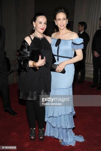 Sophie Theallet and Vera Farmiga attend THE METROPOLITAN MUSEUM OF ART'S Spring 2010 COSTUME INSTITUTE Benefit Gala at THE METROPOLITAN MUSEUM OF ART...