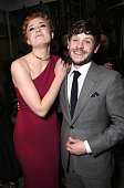 Sophie Turner and Iwan Rheon attend the after party for the premiere Of HBO's 'Game Of Thrones' Season 6 at the Roosevelt Hotel on April 10 2016 in...