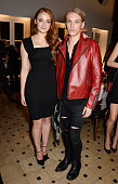 Sophie Turner and Jamie Campbell Bower attend the Charlotte Olympia 'Handbags for the Leading Lady' launch dinner at Toto's Restaurant on October 23...