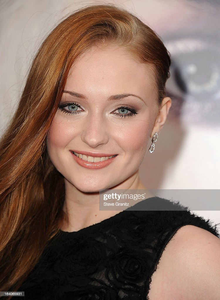 Sophie Turner arrives at the HBO's 'Game Of Thrones' Season 3 - Los Angeles Premiere at the TCL Chinese Theatre on March 18, 2013 in Hollywood, California.