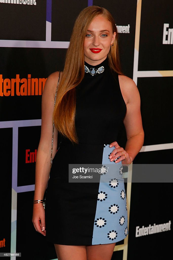 <a gi-track='captionPersonalityLinkClicked' href=/galleries/search?phrase=Sophie+Turner+-+Actress&family=editorial&specificpeople=11657140 ng-click='$event.stopPropagation()'>Sophie Turner</a> arrives to Entertainment Weekly's Annual Comic Con Celebration during Comic-Con International 2014 at Float at Hard Rock Hotel San Diego on July 26, 2014 in San Diego, California.