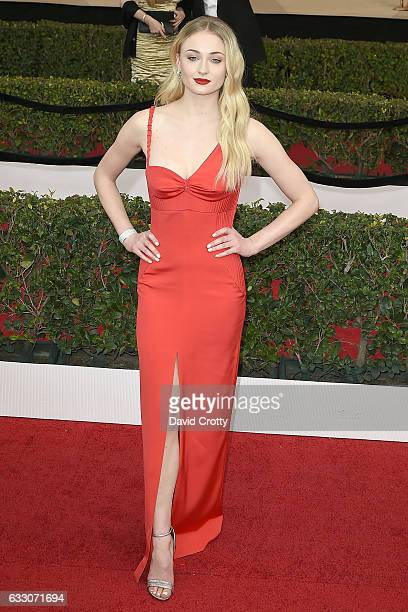 Sophie Turner attends the 23rd Annual Screen Actors Guild Awards at The Shrine Expo Hall on January 29 2017 in Los Angeles California