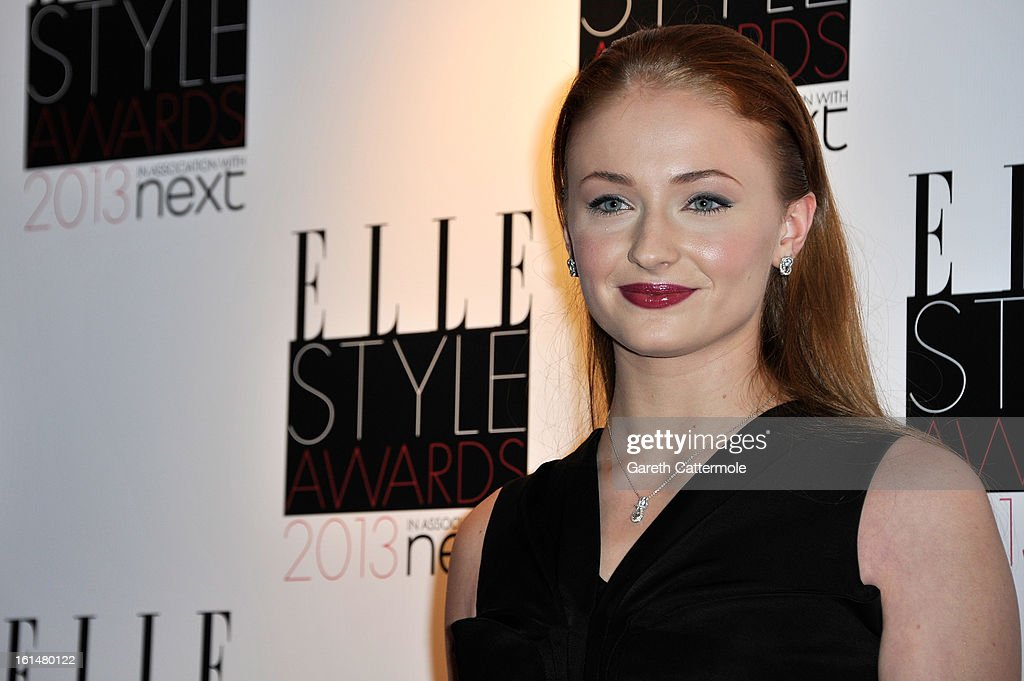 Sophie Turner attends the Elle Style Awards at The Savoy Hotel on February 11, 2013 in London, England.