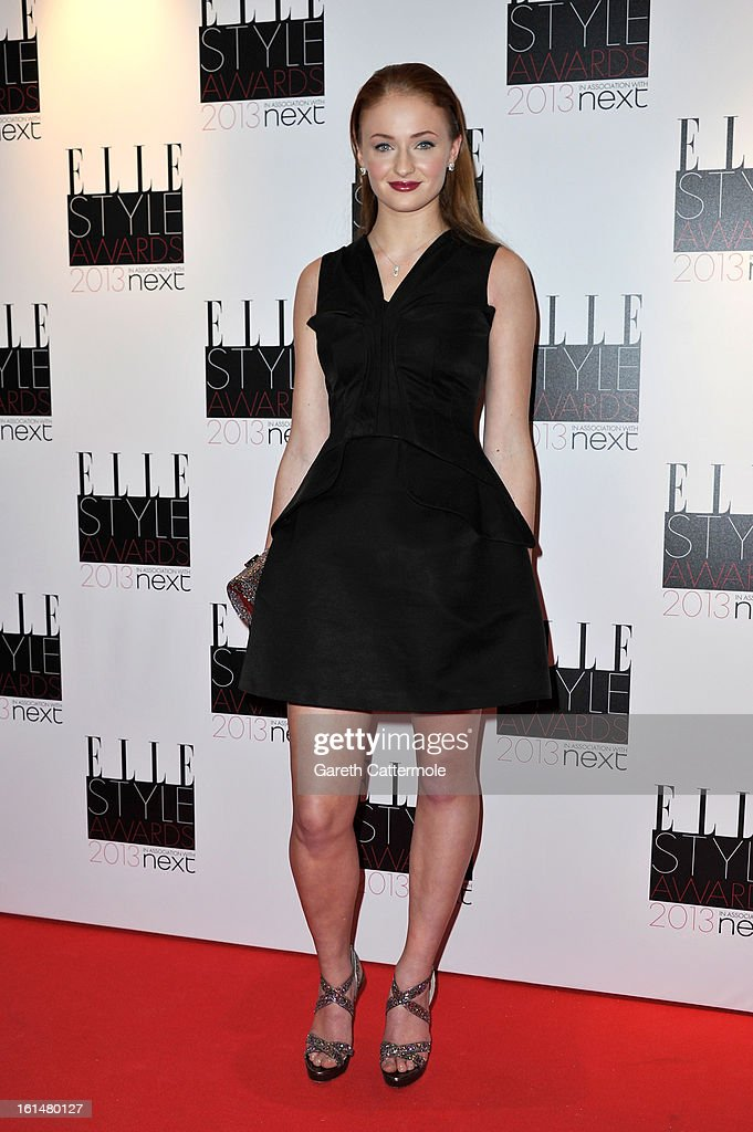 <a gi-track='captionPersonalityLinkClicked' href=/galleries/search?phrase=Sophie+Turner+-+Actrice&family=editorial&specificpeople=11657140 ng-click='$event.stopPropagation()'>Sophie Turner</a> attends the Elle Style Awards at The Savoy Hotel on February 11, 2013 in London, England.