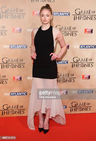 Galerry SOPHIE TURNER at Game of Thrones Season 5 World Premiere in London