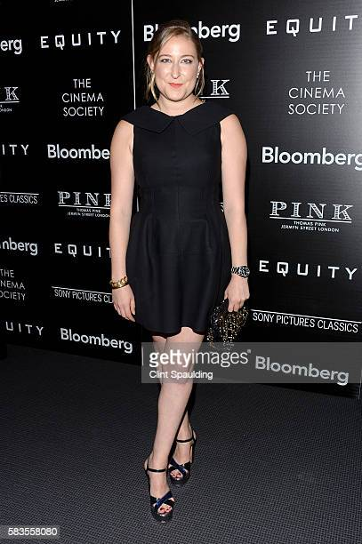 Sophie von Haselberg attends a Screening of Sony Pictures Classics' 'Equity' hosted by The Cinema Society with Bloomberg Thomas Pink at TBD on July...