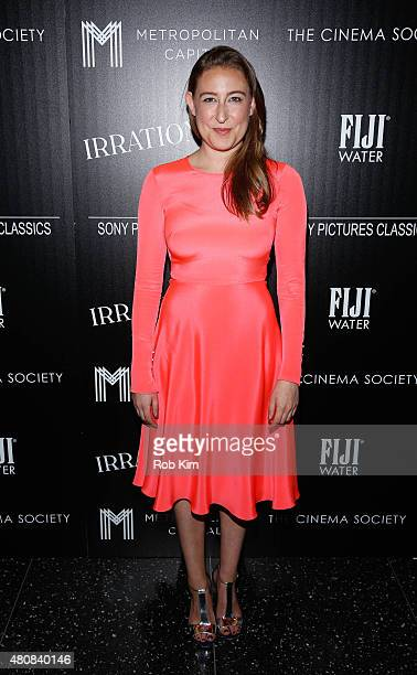 Sophie Von Haselberg attends Sony Pictures Classics 'Irrational Man' premiere hosted by Fiji Water Metropolitan Capital Bank and The Cinema Society...