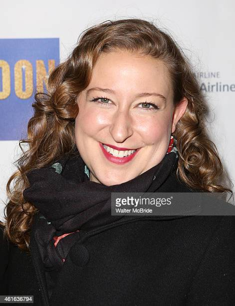 Sophie von Haselberg attends the Broadway Opening Night Performance of 'Honeymoon in Vegas' at the Nederlander Theatre on January 15 2014 in New York...