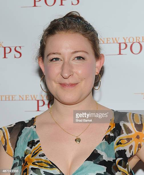 Sophie Von Haselberg attends The New York Pops 31st Birthday Gala at the Mandarin Oriental Hotel on April 28 2014 in New York City