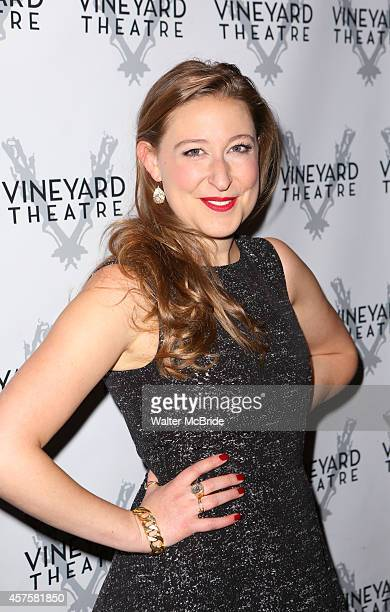 Sophie von Haselberg attends the OffBroadway opening Night Performance After Party for 'Billy Ray' at the Vineyard Theatre on October 20 2014 in New...