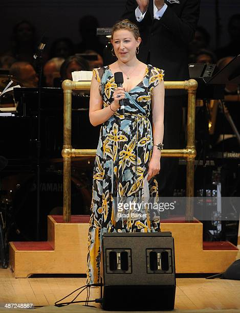 Sophie von Haselberg performs during The New York Pops 31st Birthday Gala at Carnegie Hall on April 28 2014 in New York City