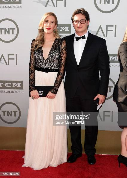 Sophie Wajngarten and Fabio Wajngarten attend the 2014 AFI Life Achievement Award A Tribute to Jane Fonda at the Dolby Theatre on June 5 2014 in...