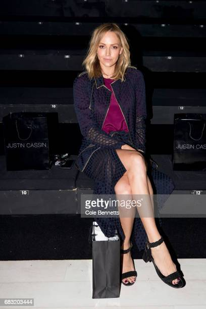 Sophie Walsh attends the Justin Cassin show at MercedesBenz Fashion Week Resort 18 Collections at Carriageworks on May 15 2017 in Sydney Australia