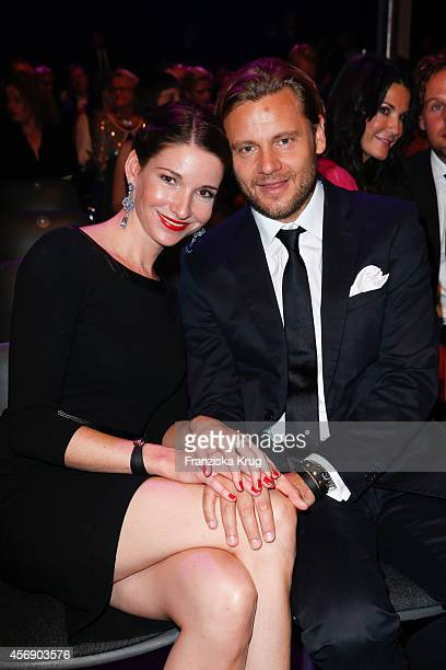 Sophie Wepper and David Meister attend the Tribute To Bambi 2014 on September 25 2014 in Berlin Germany