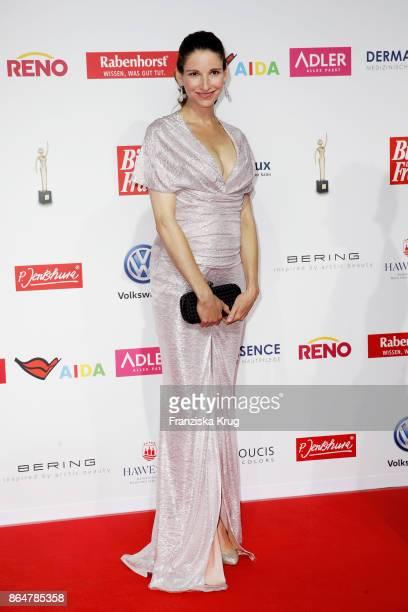 Sophie Wepper attends the 'Goldene Bild der Frau' award at Hamburg Cruise Center on October 21 2017 in Hamburg Germany