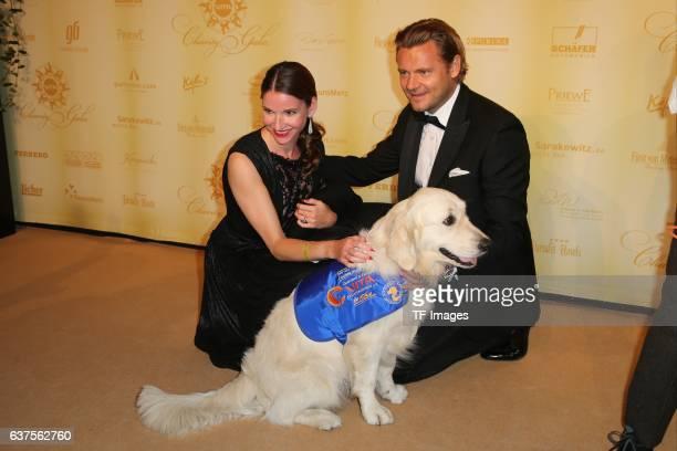Sophie Wepper David Meister attend the 7th VITA Charity Gala in Wiesbaden on September 24 2016 in Wiesbaden Germany