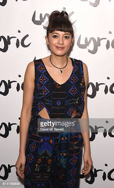 Sophie Wu attends the press night performance of 'Shopping And Fucking' at The Lyric Hammersmith on October 12 2016 in London England