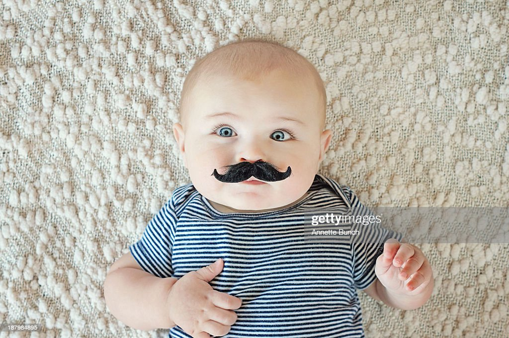 Sophisticated baby : Stock Photo