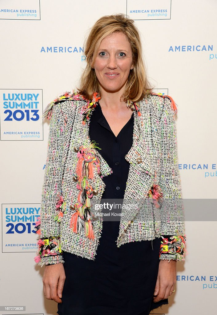 Sophy Roberts, Editor at Large, Departures, attends The American Express Publishing Luxury Summit 2013 at St. Regis Monarch Beach Resort on April 23, 2013 in Dana Point, California.