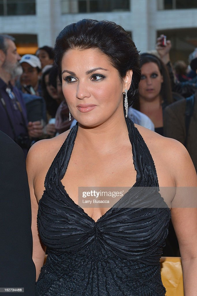 Soprano <a gi-track='captionPersonalityLinkClicked' href=/galleries/search?phrase=Anna+Netrebko&family=editorial&specificpeople=732328 ng-click='$event.stopPropagation()'>Anna Netrebko</a> attends the 2012 Metropolitan Opera Season Opening Night performance of 'L'Elisir D'Amore' at The Metropolitan Opera House on September 24, 2012 in New York City.