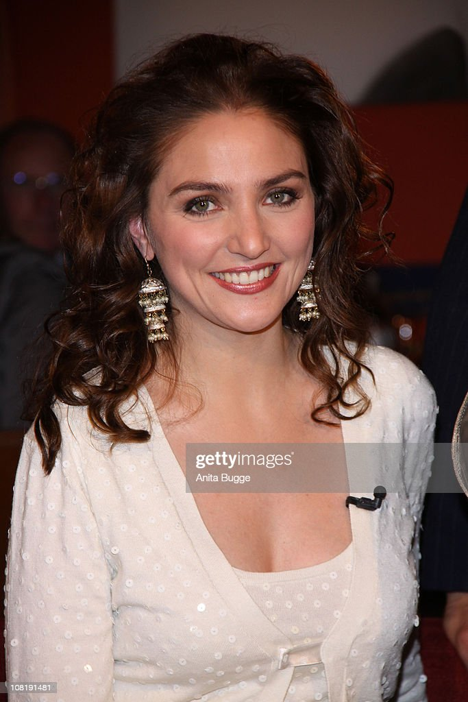 Soprano Singer Annette Dasch attends the taping of the birthday show for singer Thomas Quasthoff on October 15, 2009 in Berlin, Germany.