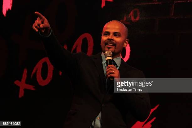 Sorabh Pant of East India Company Group of Indian Standup Comedians at a party hosted by Daikin to celebrate the three years of togetherness with...