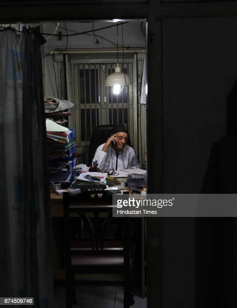 Sorabji Katipitia in his office in Surat