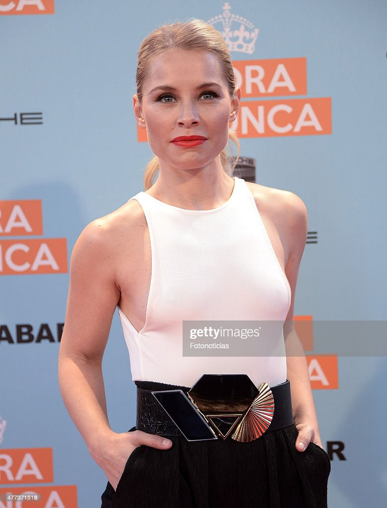 Soraya Arnelas attends the 'Ahora o Nunca' premiere at Capitol Cinema on June 16 2015 in Madrid Spain