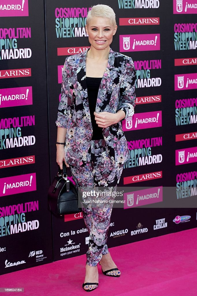 Soraya Arnelas attends the 'Cosmopolitan Shopping Week' party at the Plaza de Callao on May 28, 2013 in Madrid, Spain.