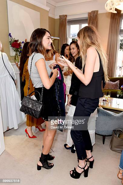 Soraya Bakhtiar and Marissa Montgomery attend a cocktail reception hosted by RACIL and MATCHESFASHIONCOM to celebrate the launch of Racil AW16...