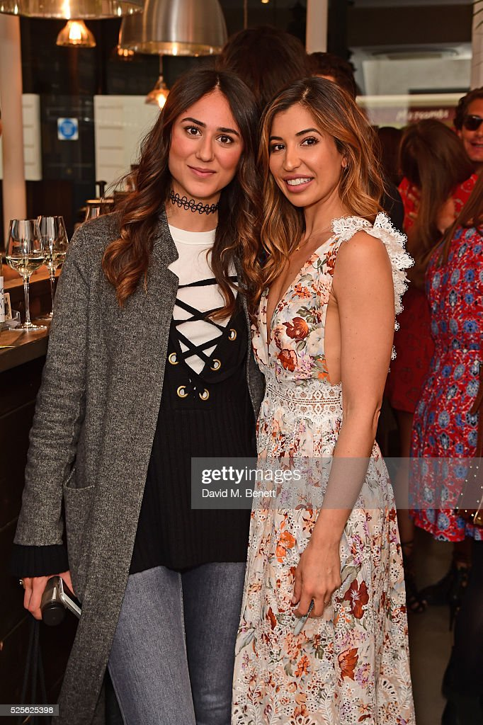 Soraya Bakhtiar (L) and Shirin Kouro attend The Good Life Eatery Cookbook Launch Party��in Knightsbridge on April 28, 2016 in London, England.