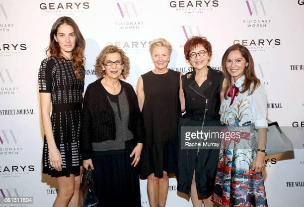 Soraya Nazarian Emina Nazarian Visionary Women President and Executive Board Member Shelley Reid Dora Levy Mossanen and Visionary Women CoFounder and...