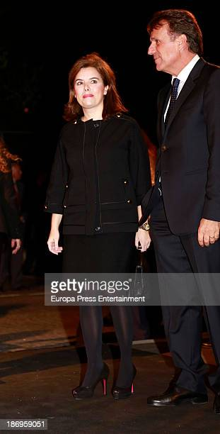 Soraya Saenz de Santamaria attends XV anniversary of 'La Razon' newspaper on November 4 2013 in Madrid Spain