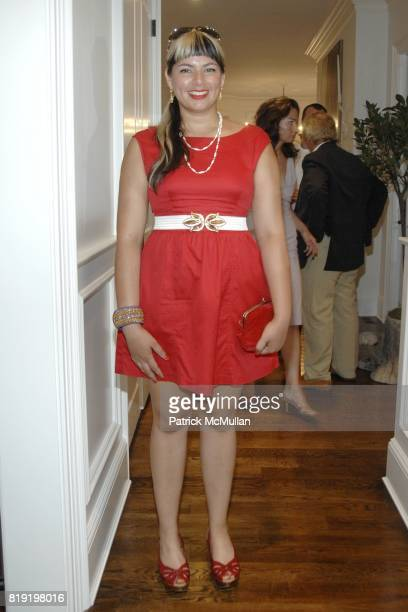 Soraya Shah attends Traditional Home presents the 2010 Hampton Designer Showhouse Gala at Sag Harbor on July 24 2010