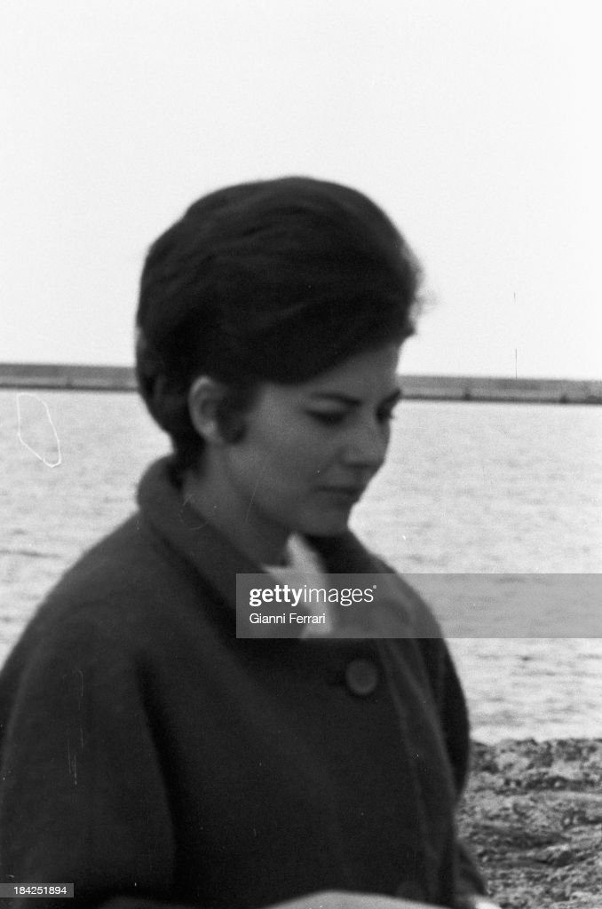 Soraya wife of the Shah of Persia during a holiday in Ibiza Ibiza Balearic Islands Spain